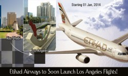 Etihad Airways to Soon Launch Los Angeles Flights
