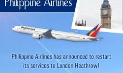 Philippine Airlines All Set to Start Heathrow Services from November