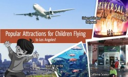 Popular Attractions for Children Flying to Los Angeles