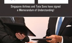 Singapore Airlines, Tata to Launch Airline in India