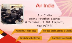 Air India Opens Premium Lounge at Terminal 3 IGI Airport, New Delhi