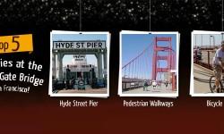 Top Five Activities at the Golden Gate Bridge of San Francisco