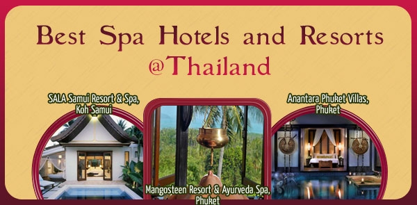 Best spa hotels and resorts at thailand s key destinations for Best spa vacation packages