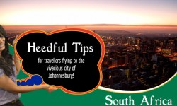 Heedful Tips for travellers flying to the vivacious city of Johannesburg