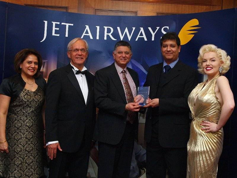 Jet Airways Awards Southall Travel Best Overall Agent Sixth Time in a Row