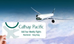 Cathay Pacific to Add Four Weekly Flights between Hong Kong and Manchester