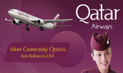 Qatar Airways to Provide More Connectivity Options from Kolkata to USA