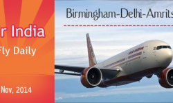 From November, Air India to Fly Daily from Birmingham