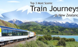 Top 3 Most Scenic Train Journeys in New Zealand That Holidaymakers Should Try