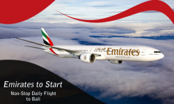Emirates to Start Non-Stop Daily Flight to Bali