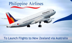 Philippine Airlines to Launch Flights to New Zealand via Australia