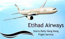 Etihad Airways Starts Daily Hong Kong Flight Service