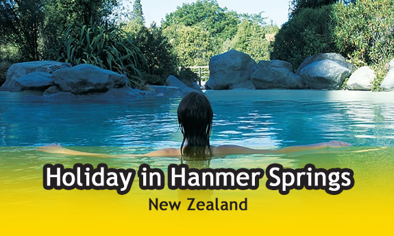holiday in hanmer springs new-zealand