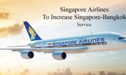Singapore Airlines to Increase Singapore-Bangkok Service