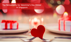 Top 3 Restaurants for Valentine's Day Dinner in Singapore