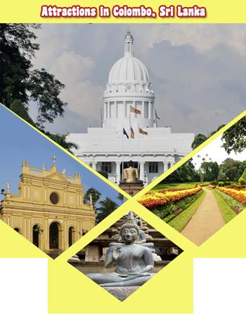 Attractions in Colombo Sri Lanka