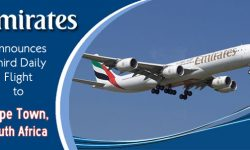 Emirates Announces Third Daily Flight to Cape Town, South Africa