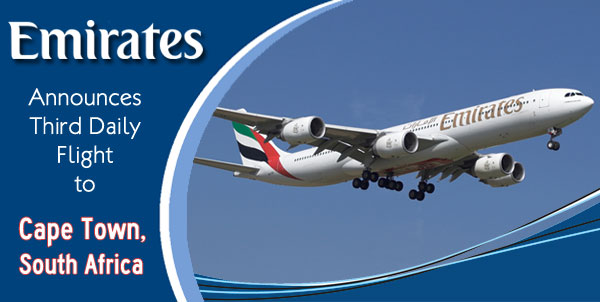 Emirates-Announces-Third-Daily-Flight-to-Cape-Town-South-Africa