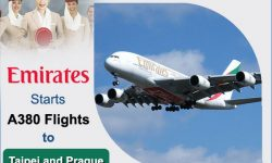 Emirates Starts A380 Flights to Taipei and Prague