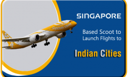 Singapore-Based Scoot to Launch Flights to Indian Cities