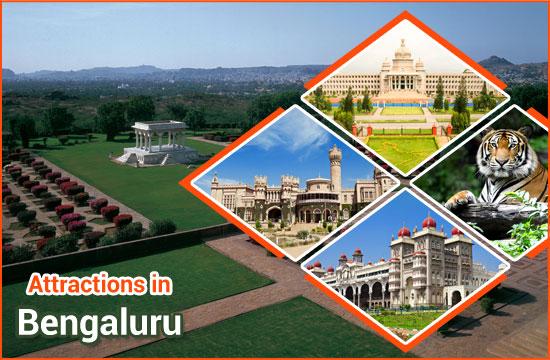 Attractions in Bengaluru