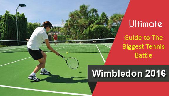 Biggest Tennis Battle Wimbledon 2016