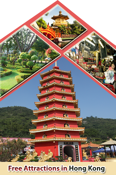 Attractions in Hong Kong