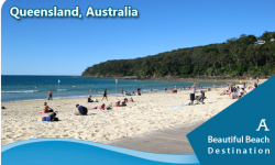 Visit Queensland's North Stradbroke Island, a Beautiful Beach Destination