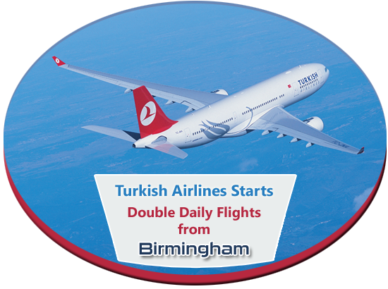 Turkish Airlines Flights from Birmingham