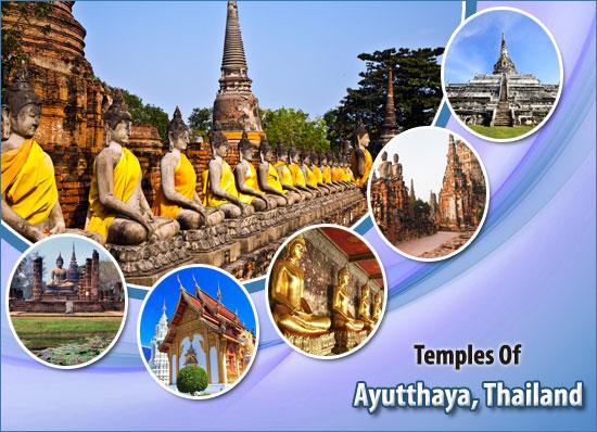 Temples-Of-Ayutthaya-Thailand