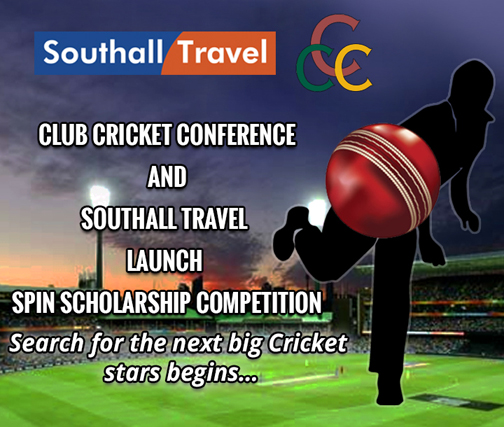 Club Cricket Conference and Southall Travel Launch Spin Scholarship competition