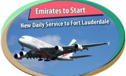 Emirates to Start New Daily Service to Fort Lauderdale