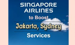 Singapore Airlines to Boost Jakarta, Sydney Services