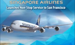 Singapore Airlines Launches Non-Stop Service to San Francisco