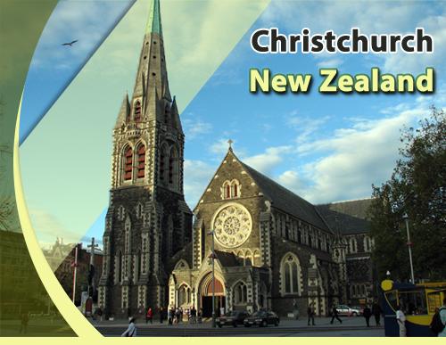 Christchurch-New-Zealand