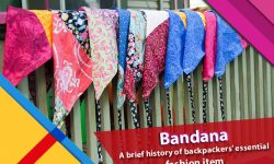 Bandana: A brief history of backpackers' essential fashion item