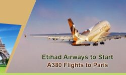 Etihad Airways to Start A380 Flights to Paris