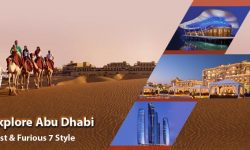 Explore Abu Dhabi, Fast & Furious 7 Style