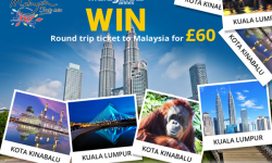 Book Malaysia Return Flights for £60. Enter Southall Travel's Mayalsia60 Giveaway