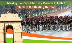 Missing the Republic Day Parade in India? Think of the Beating Retreat