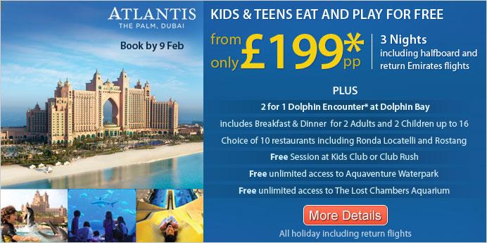 Amazing Holiday Offers To Dubai!!!